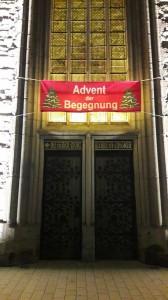 Advent der Begegnung Banner